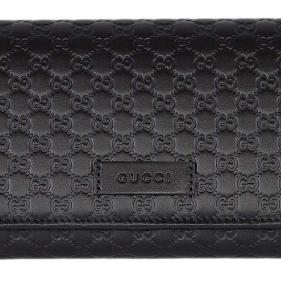 Gucci Handbags - Guccissima Micro GG Large Continental Wallet